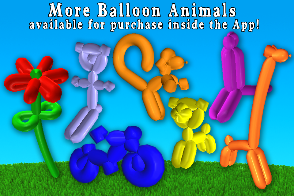 气球动物:balloon animals 3d